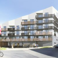 Nabízíme k pronájmu novostavbu bytu 3+kk s velkou terasou a 2 garážovými stáními v Plzni na Slovanech
